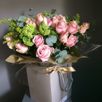 Blush Pink Rose Bouquet